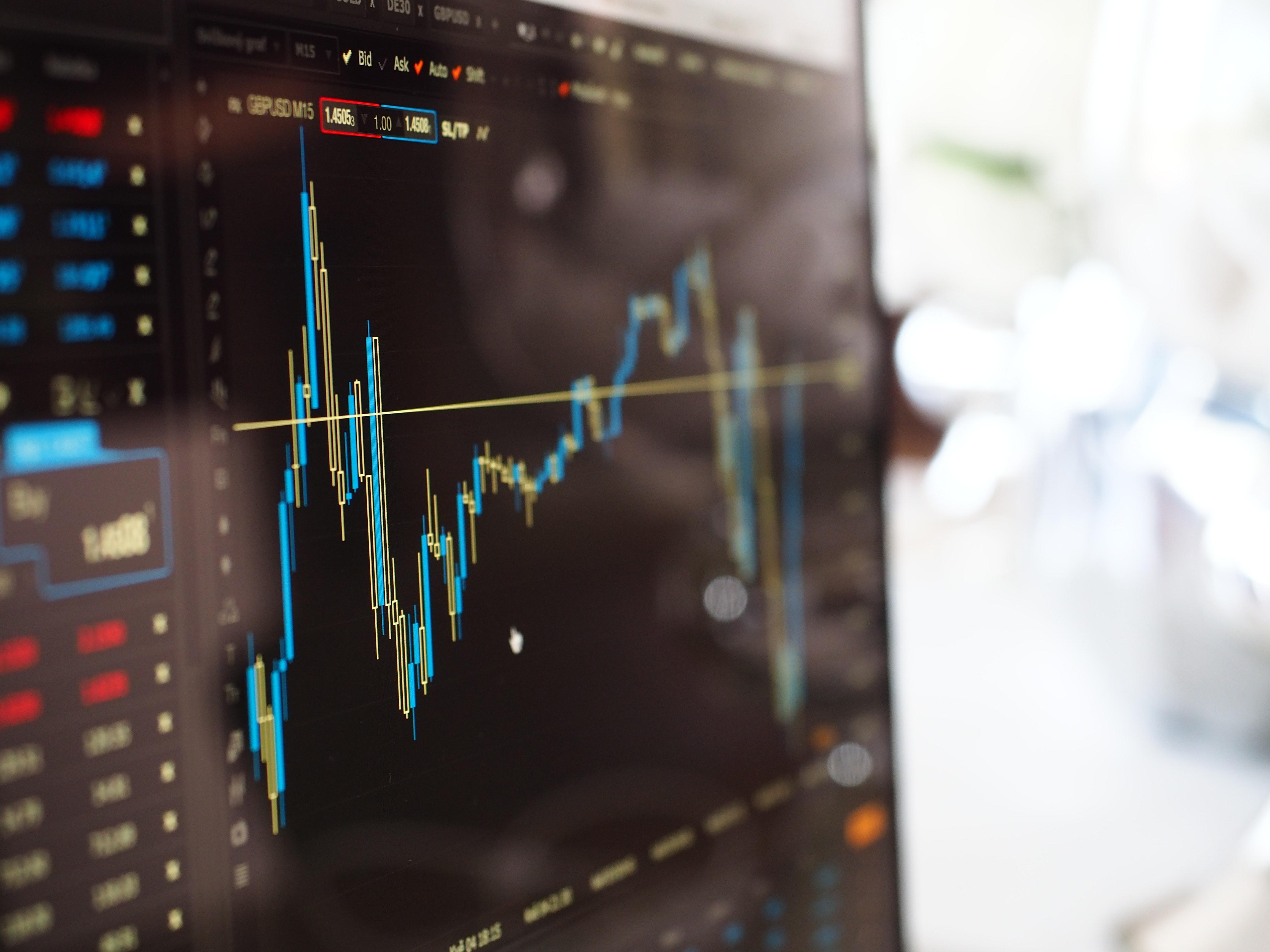 graphique de trading