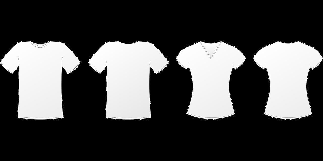 tshirt représentant la personnalisation POD